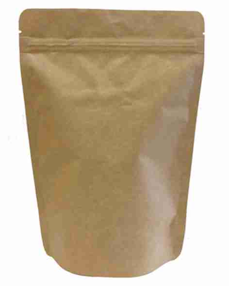 brown paper pouch packaging